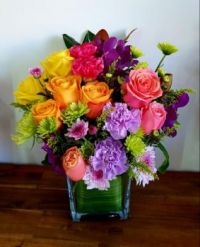 Happiness is...Brighten your home with Flowers.