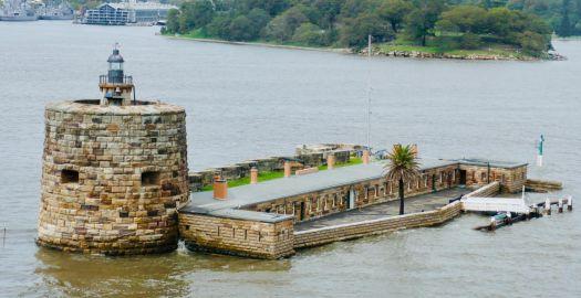 Fort Denison, Sydney Harbor.
