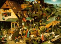 La Huque bleue par Pieter Bruegel
