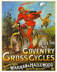 VIntage ad - Coventry Cross Cycles