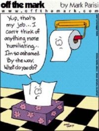 Ever think you are caught between being a kleenex and toilet paper?