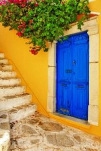 Colorful Greece, Symi Island Streets by Maugli I.