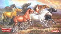 Dandan SA Paintings - Beautiful Horse