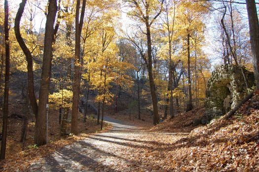 Basilica at Holy Hill trail