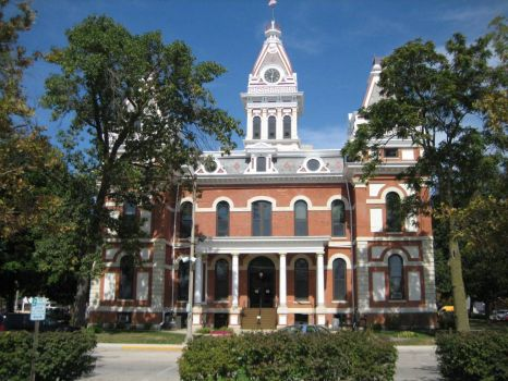 Livingston County Courthouse - Pontiac, IL