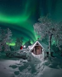 house on arctic circle