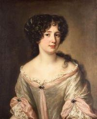 Portrait of Marie Mancini, Duchess of Bouillon, author unknown, circa 1660
