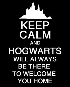 Keep Calm and Hogwarts