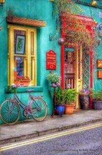 Colorful location