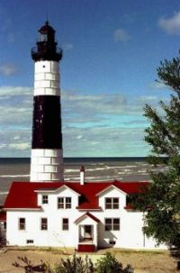 Sable Point Lighthouse, Michigan