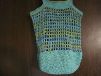 another crochet tote bag