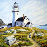 The Lighthouse Keeper's Cottage by Richard T. Pranke