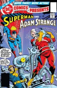 DC COMICS PRESENTS SUPERMAN and ADAM STRANGE !