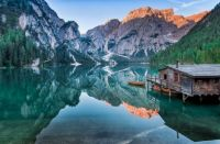 Lake Braies, South Tyrol, Italy