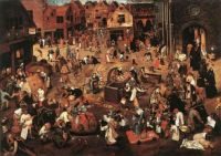 Bruegel The battle between carnival and lent