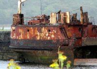 It still floats!  Old ship in Ireland                   1101-001
