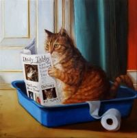 """""""Cat on a Throne"""""""