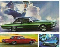1966 Ford Thunderbird.Poster