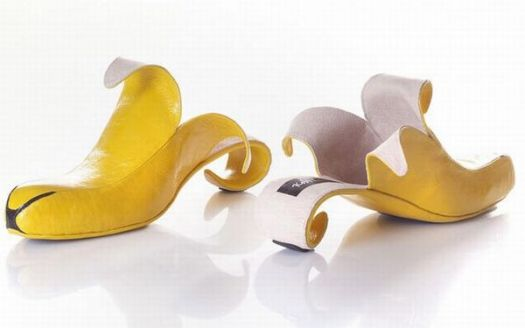 I want these shoes,but I've always been a bit bananas.