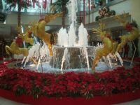 Christmas decorations at West Mall, Trinidad