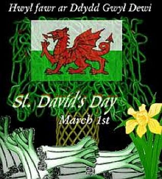 Happy Saint David's Day