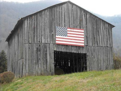 'Barn in the USA!'