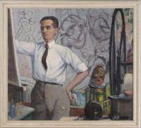 Bernhard Gutmann   portrait of an artist