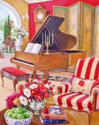 LIVELY PIANO ROOM