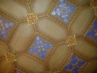 Ceiling in Hohenzollern Castle, Germany