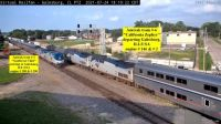 Amtrak #3 & #6 Galesburg,ILL/USA 45-pc