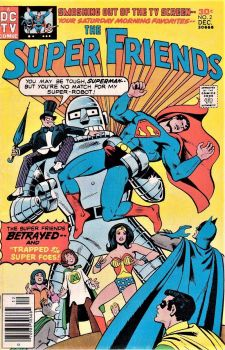 The SuperFriends Trapped By The Super Foes