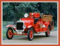 1927 Ford TT Fire engine