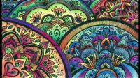 Colourful Mandalas