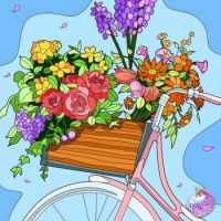 Comin' Your Way with Flowers!