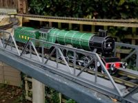 Flying Scotsman arrives at Freshwater Bear