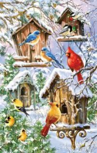 'Snow Birds' by Dona Gelsinger