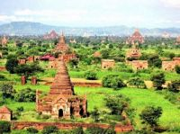 Burma  The village of Bagan