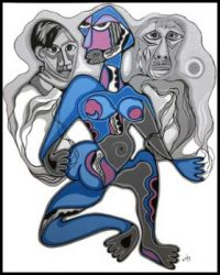 Mirror of My Soul ~ Daphne Odjig (Ojibwa)