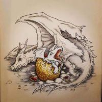 reincarnation of a dragon