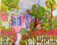 Cottage in Pink