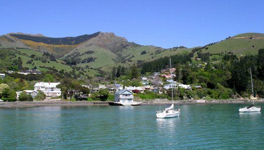 Akaroa. New Zealand