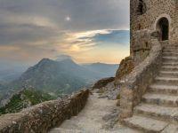 Queribus Castle View