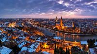Verona, Italy, Along the Adige River