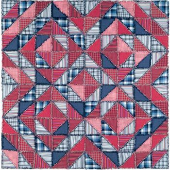 Rag Quilt small