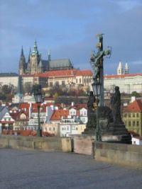 Praha - výhled na hrad