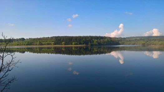 Fewston reservoir, North Yorkshire, England.