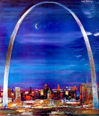 Gateway Arch, St.Louis, Missouri, Fred Conway (1900-1972)