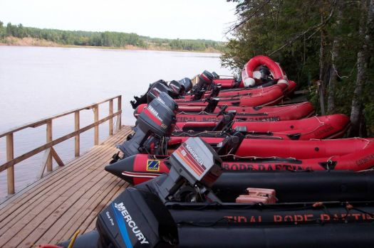 Tidal Bore Rafting - Nova Scotia