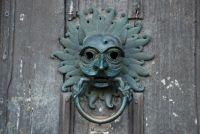 Durham Cathedral sanctuary door knocker