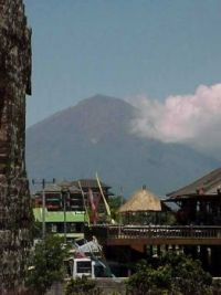 Bali - Mount Agung in the background
